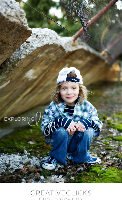 Ancaster Modern Child Photography