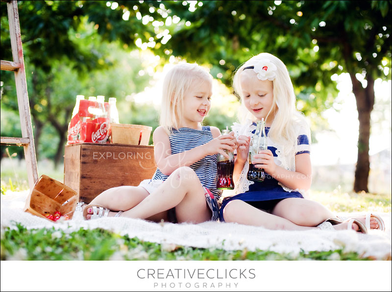 Children's Modern Outdoor Orchard Photography