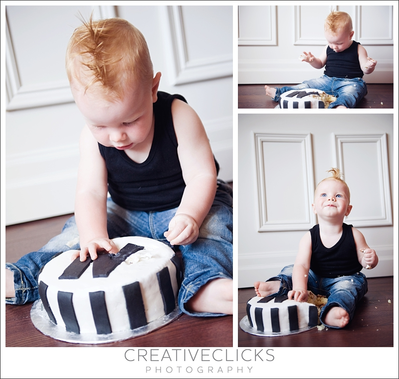 One Year Smash the Cake Photo Session
