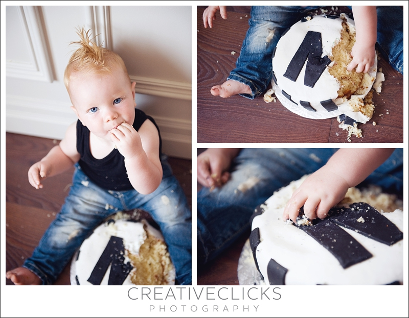 One Year Smash the Cake Session
