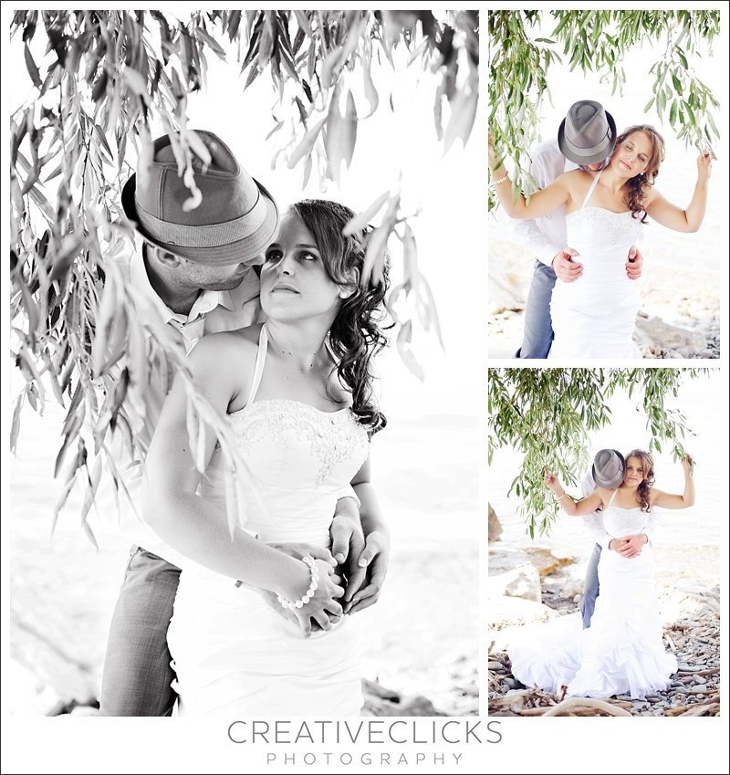 Wedding images on the beach