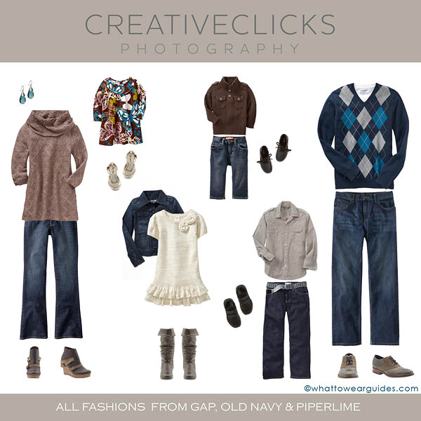 Fall Family Session Clothing Inspiration