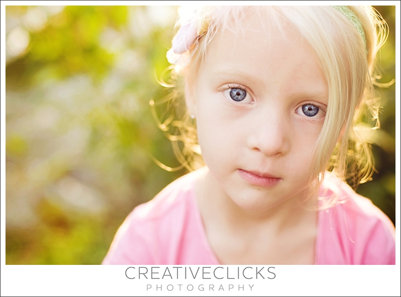 Closeup Child Photography