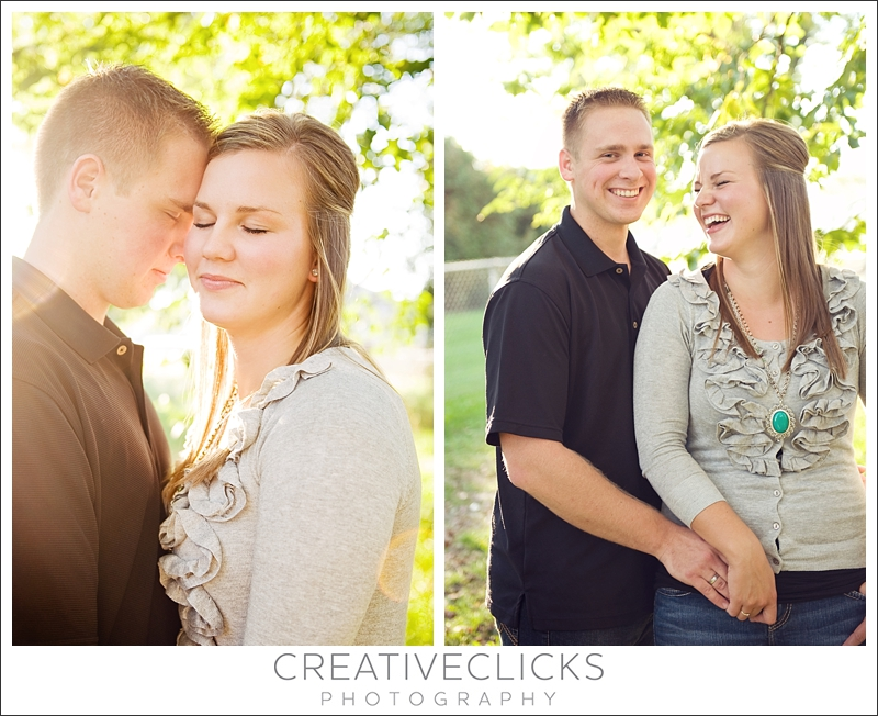 Fun Engagement Portraits