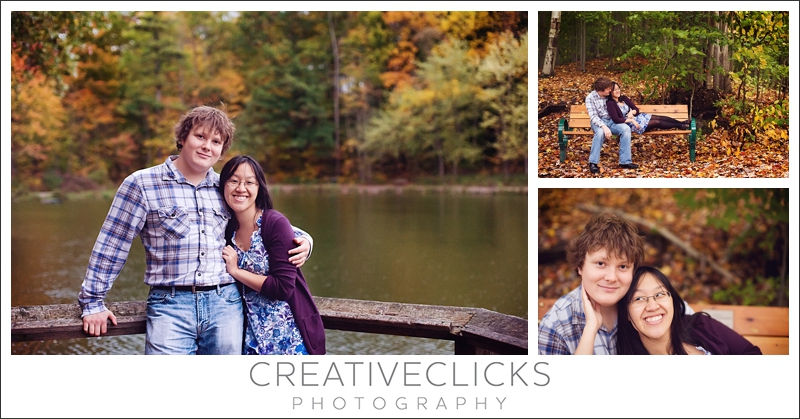 Fall Color Engagement Session