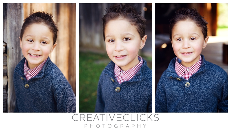 Five Year Old Boy Portraits