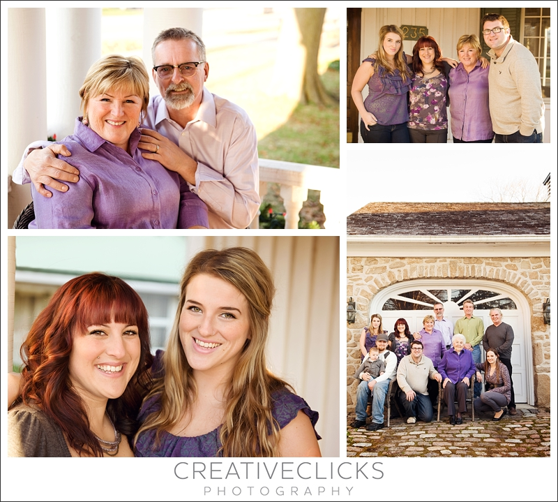Family images outdoors