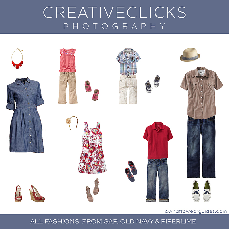What to Wear Family Session Clothing Inspiration