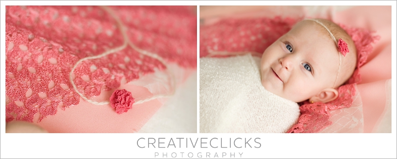 gogeous coral lace layering set photography prop organic style baby in vogue