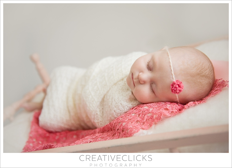 professional baby photography 4 month old baby girl four months old
