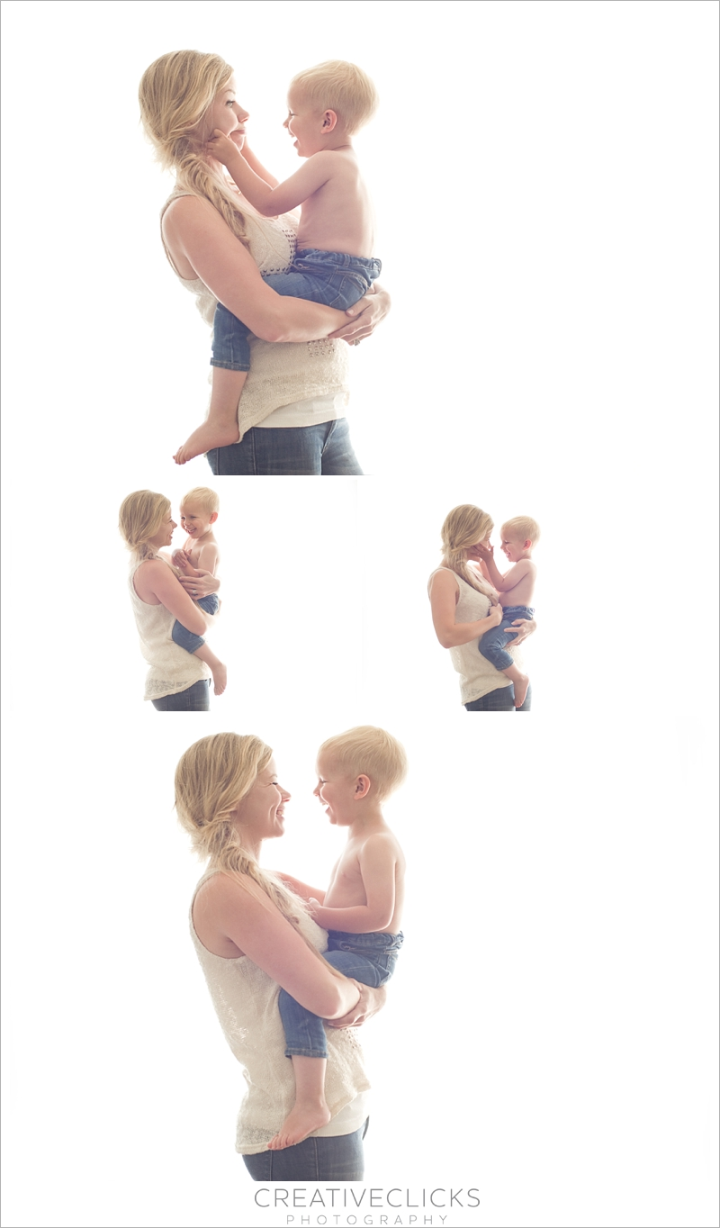 Mommy and son photos