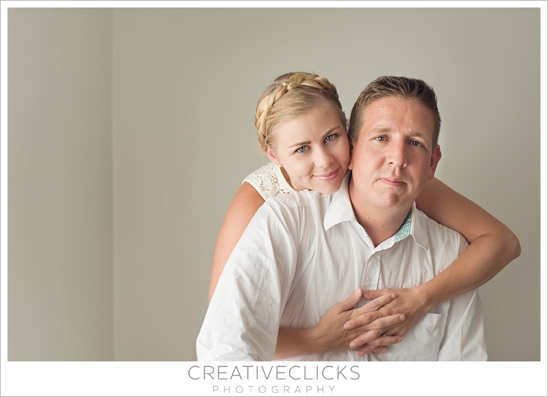 Natural Light Portrait of Couple Together