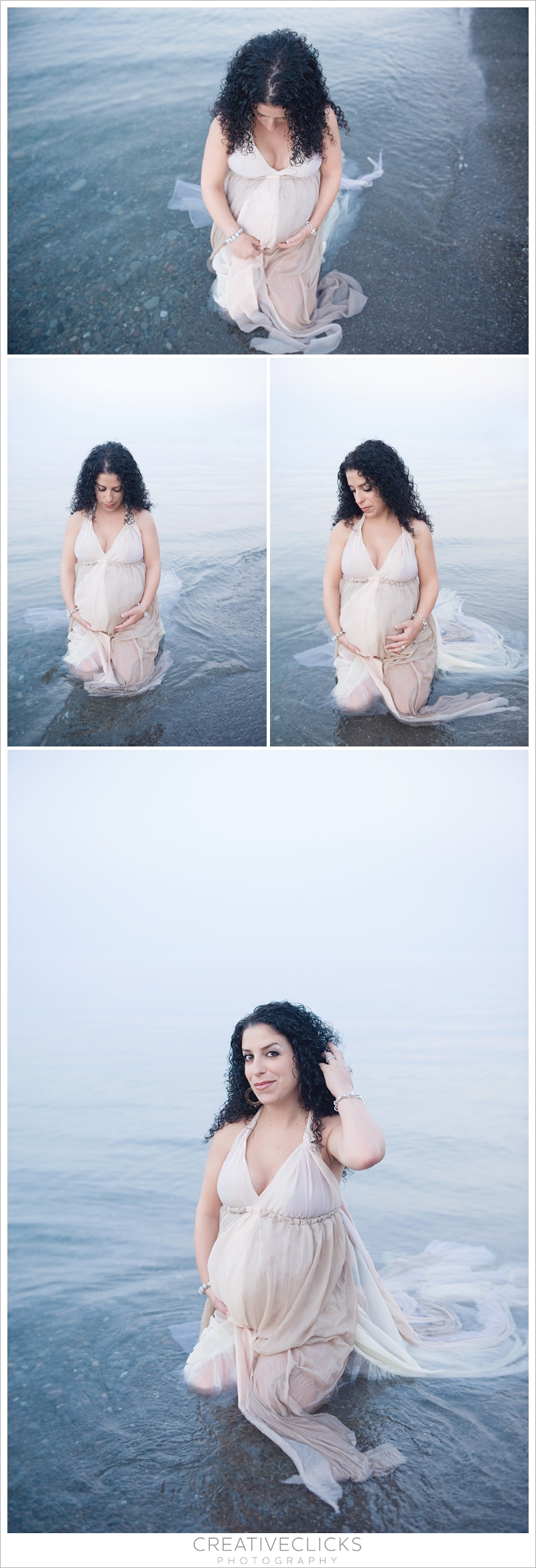 Dreamy Maternity Photography on the Beach