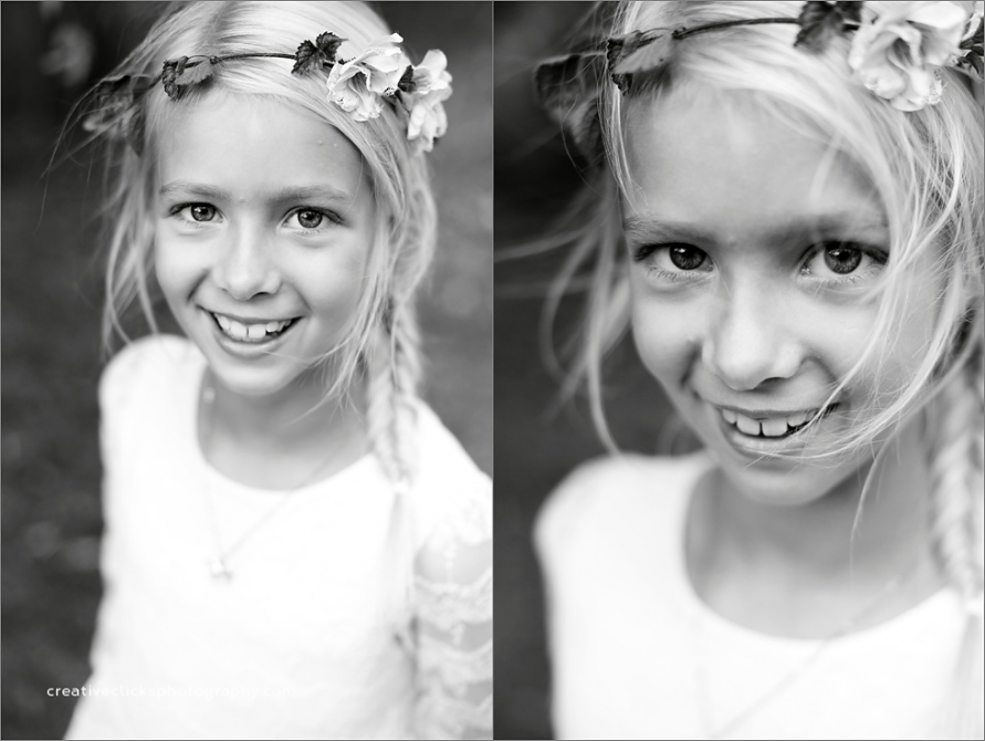 beautiful eight year old girl natural organic photography