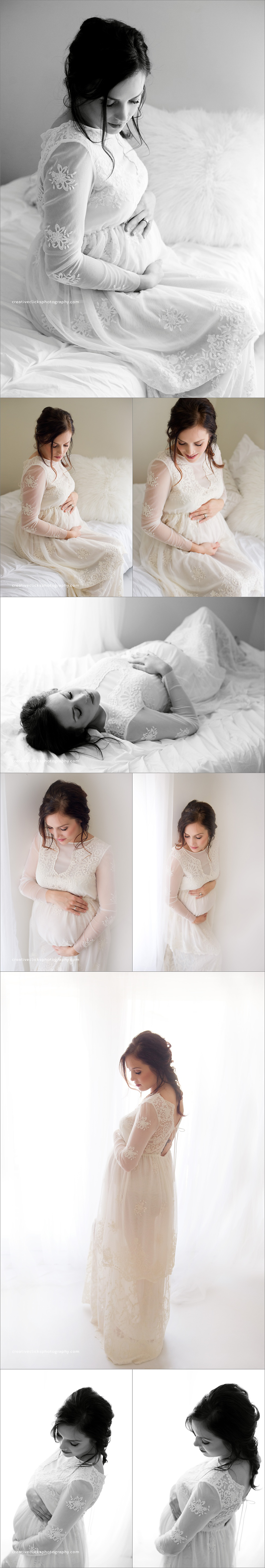 gorgeous luxurious maternity photography