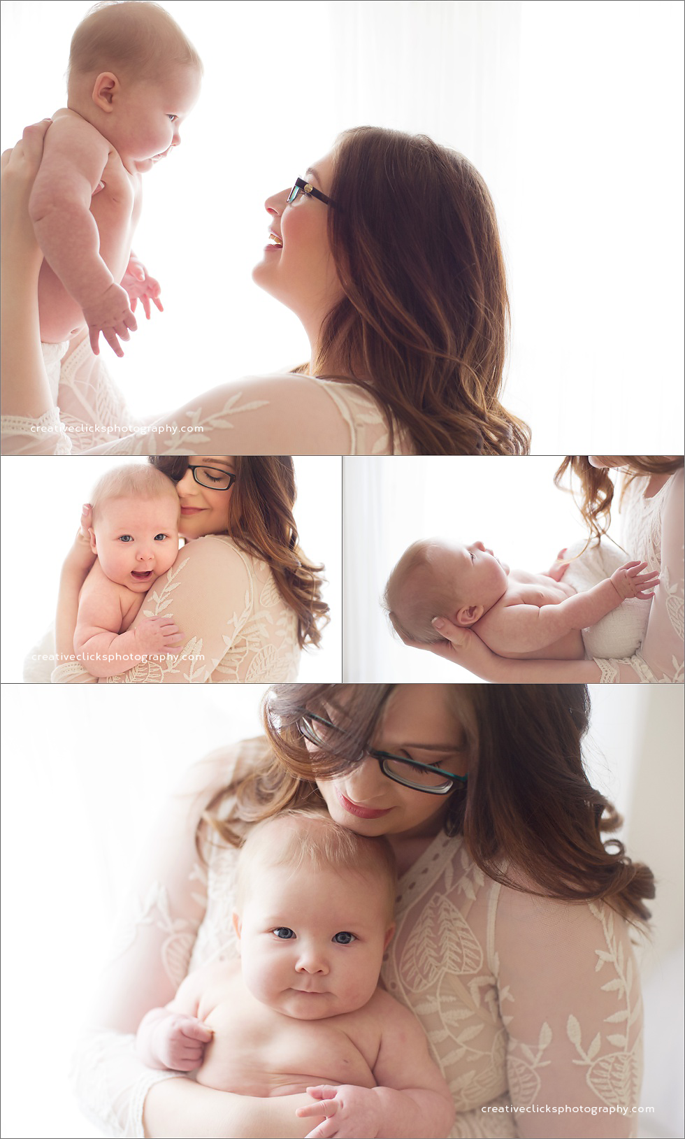 mommy and me baby session niagara baby photographer