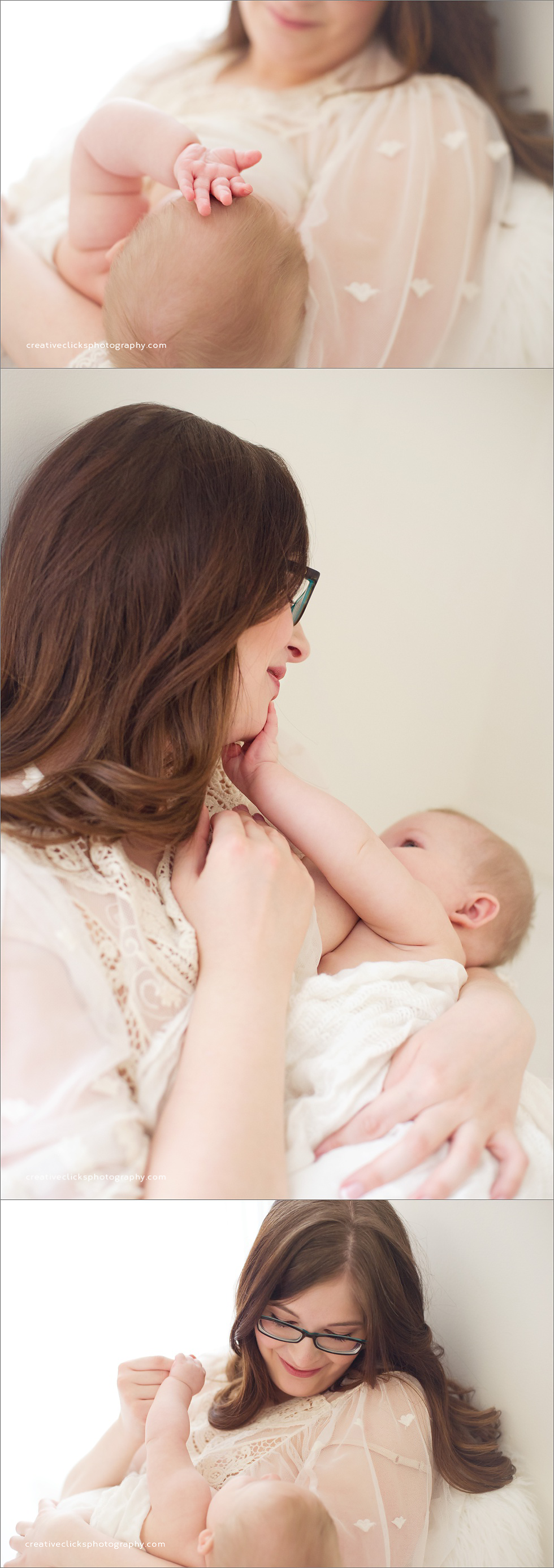 mommy and me nursing session niagara baby photographer