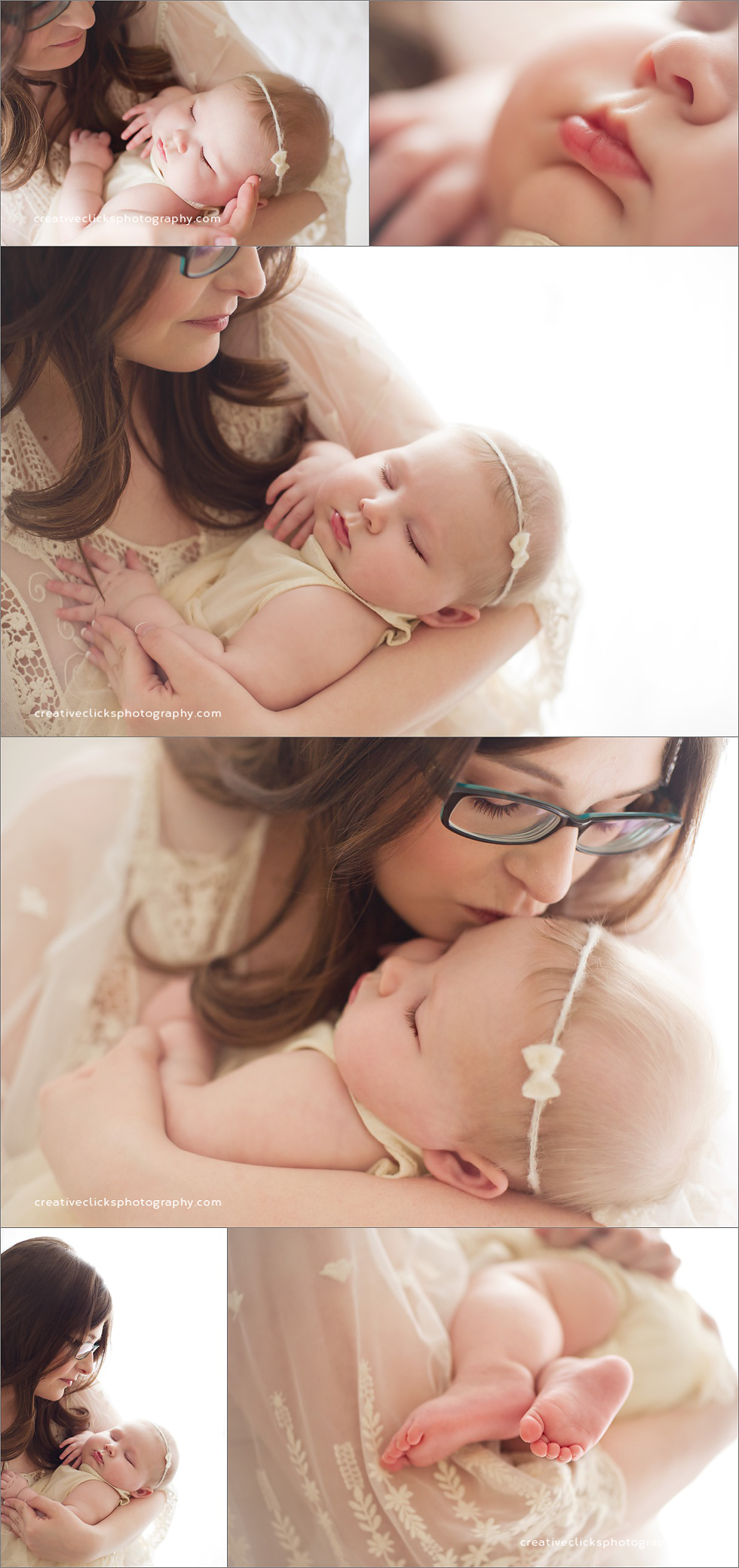 sweet mommy and me baby session niagara baby photographer