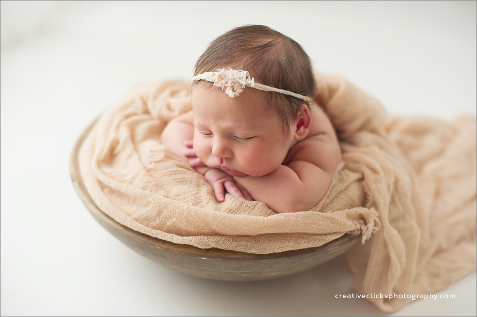 organic newborn photography