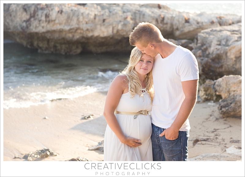 White Maternity Beach Dresses